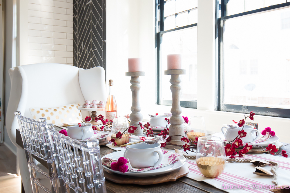 Breakfast Room Valentines Day Dinner Table Decor Ideas Setting World