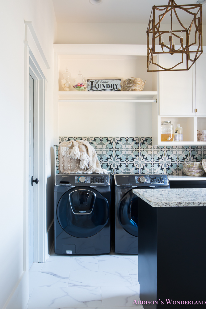 laundry-room-organization-ideas-white-black-cabinets-cement-tile-shaw-floors-marble-tile-flooring-carrera-black-window-sashes-alabaster-walls-sherwin-williams-1-of-17