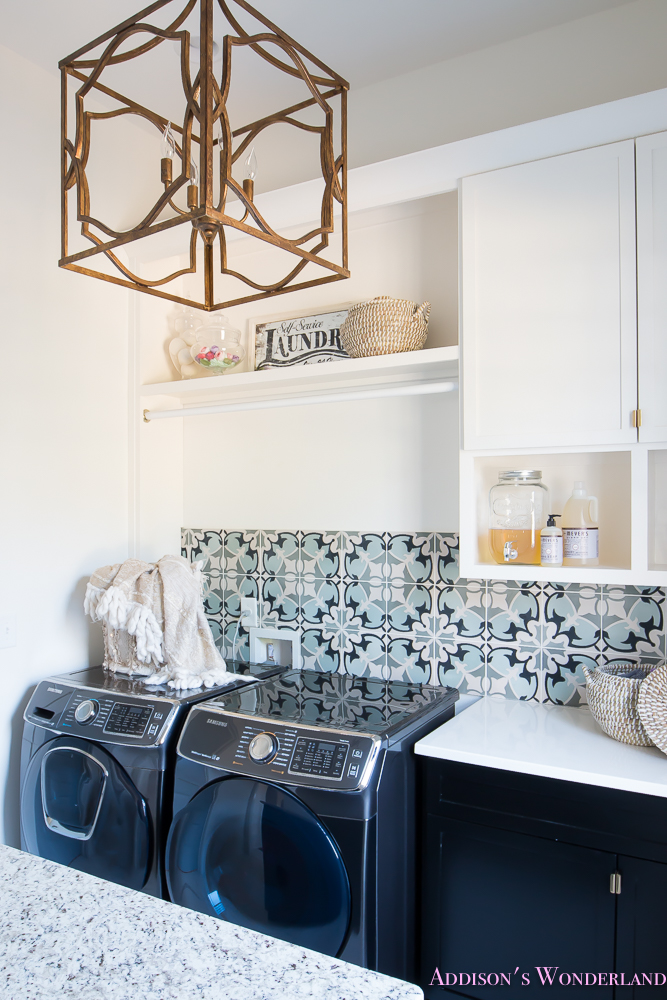 laundry-room-organization-ideas-white-black-cabinets-cement-tile-shaw-floors-marble-tile-flooring-carrera-black-window-sashes-alabaster-walls-sherwin-williams-15-of-17