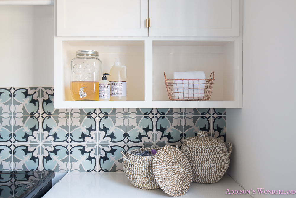 Laundry Room Decor Organization Addisons Wonderland