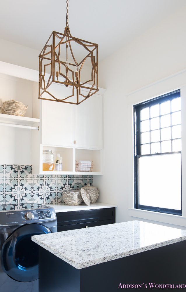 laundry-room-organization-ideas-white-black-cabinets-cement-tile-shaw-floors-marble-tile-flooring-carrera-black-window-sashes-alabaster-walls-sherwin-williams-4-of-17