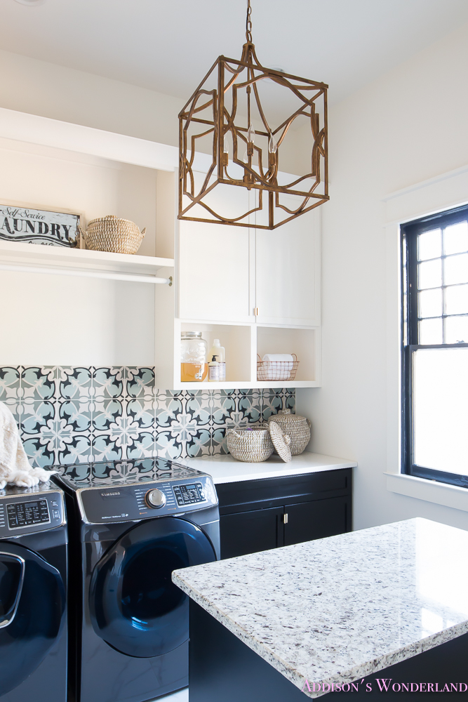 laundry-room-organization-ideas-white-black-cabinets-cement-tile-shaw-floors-marble-tile-flooring-carrera-black-window-sashes-alabaster-walls-sherwin-williams-7-of-17