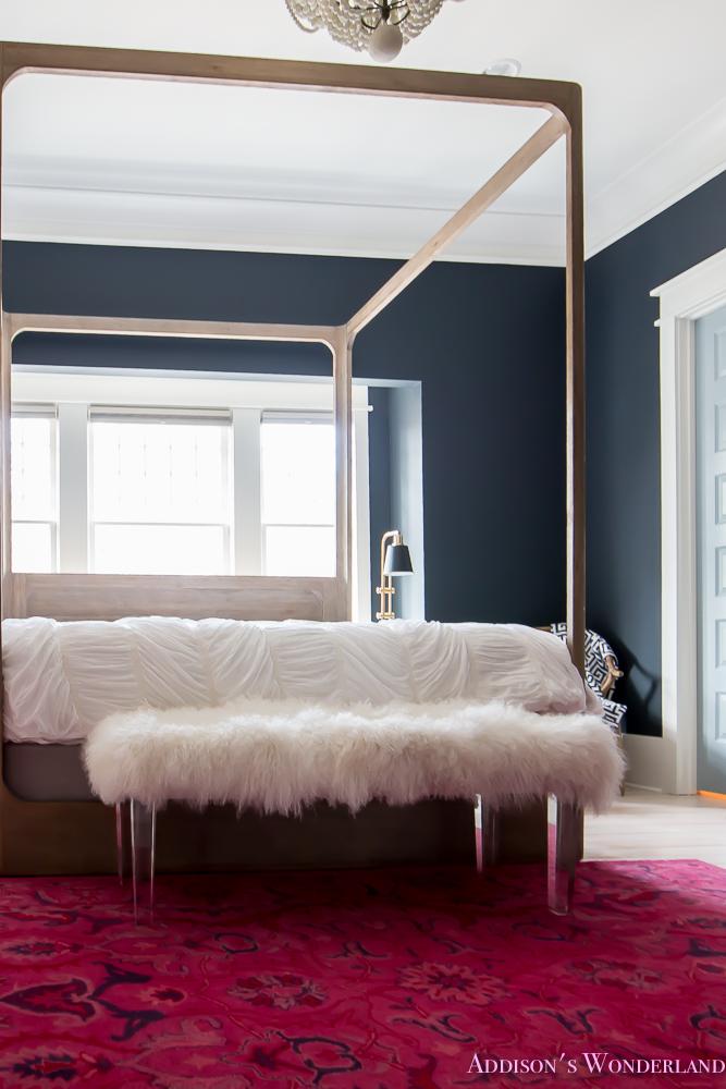 Our Dark Amp Moody Master Bedroom Addison S Wonderland