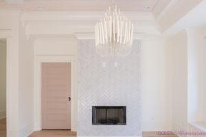 playroom-living-room-whitewashed-hardwood-floors-flooring-ceiling-rose-pink-doors-iron-baluster-staircase-white-walls-alabaster-sherwin-williams-11-of-19
