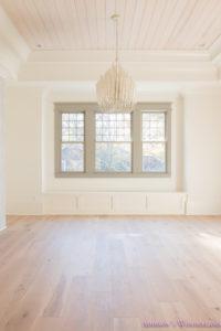 playroom-living-room-whitewashed-hardwood-floors-flooring-ceiling-rose-pink-doors-iron-baluster-staircase-white-walls-alabaster-sherwin-williams-9-of-19