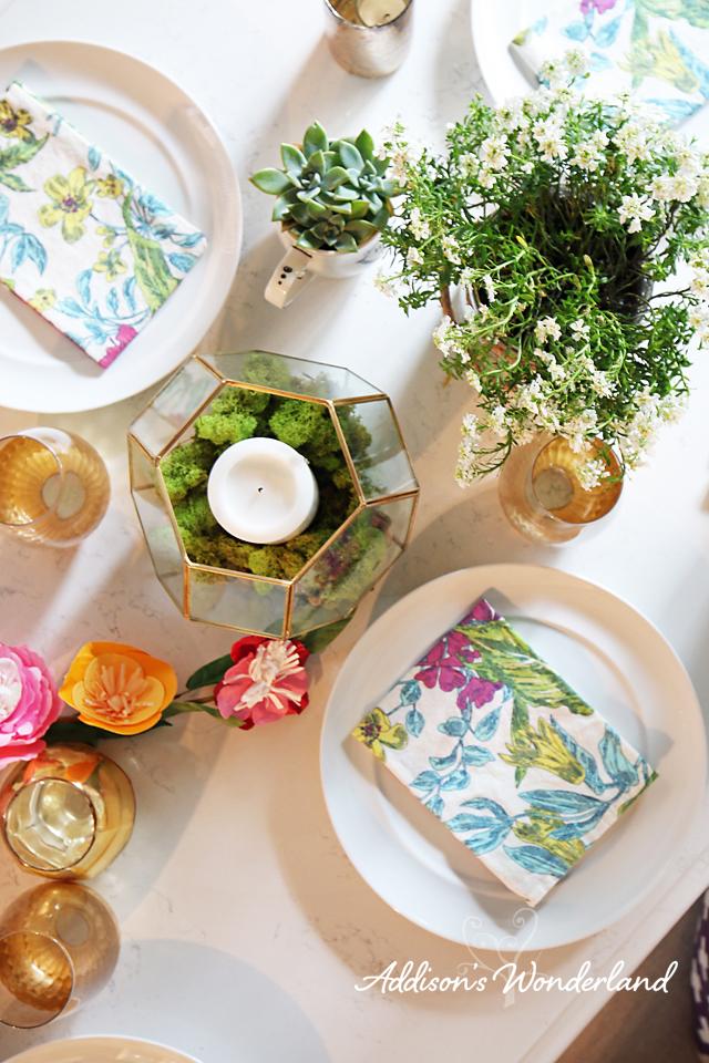 Spring Table Decor 12