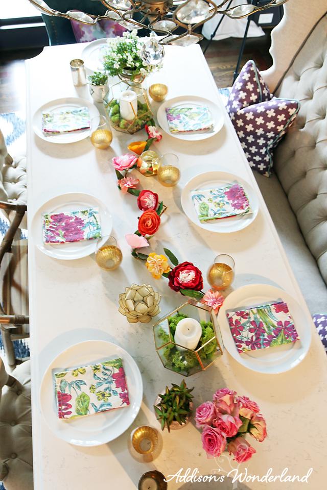 Spring Table Decor 13