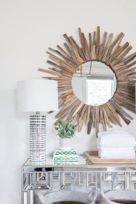 Master Bathroom Console Table…