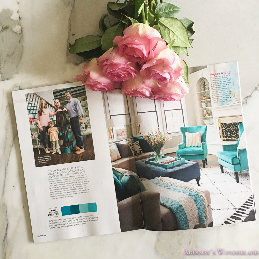 We Have A Magazine Spread Addisons Wonderland