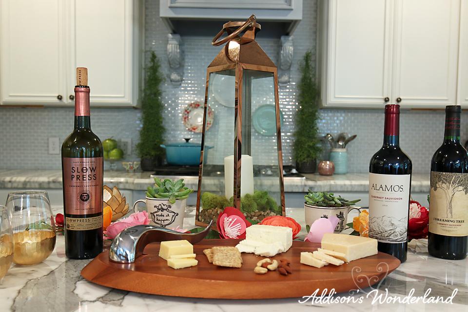 A16 Wine & Cheese Entertaining Ideas