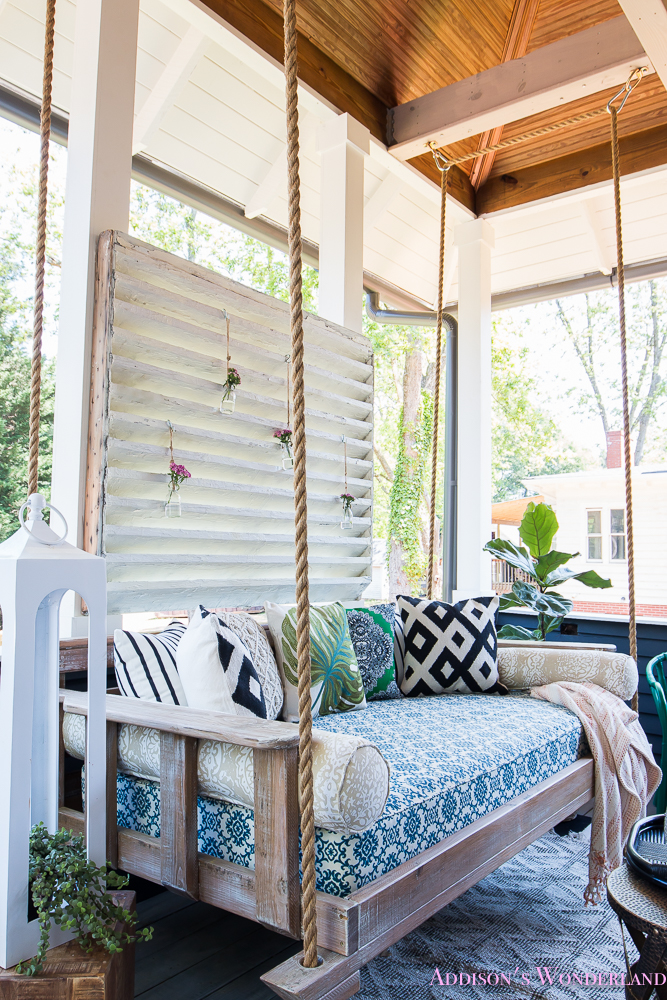 Back Porch Makeover With World Market Addison S Wonderland