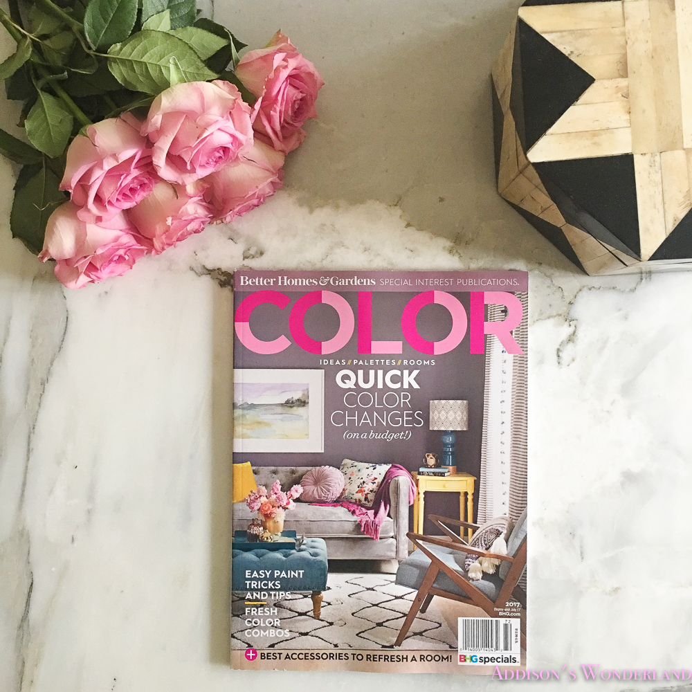 better homes and gardens spring 2017 color magazine april may