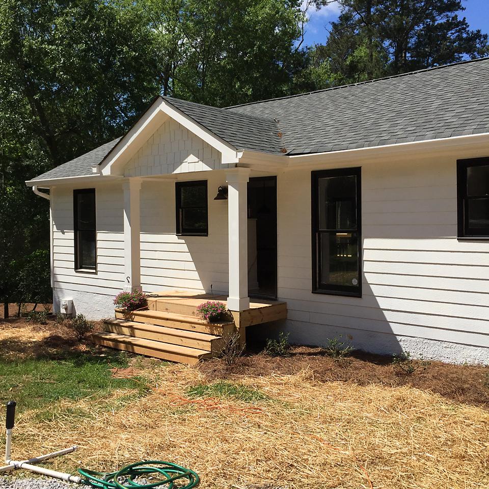 Lakehouse Exterior Progress 2