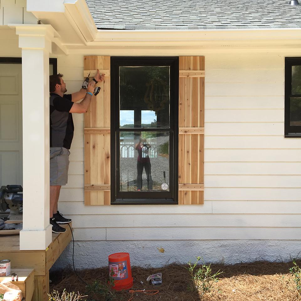 Lakehouse Exterior Progress 4
