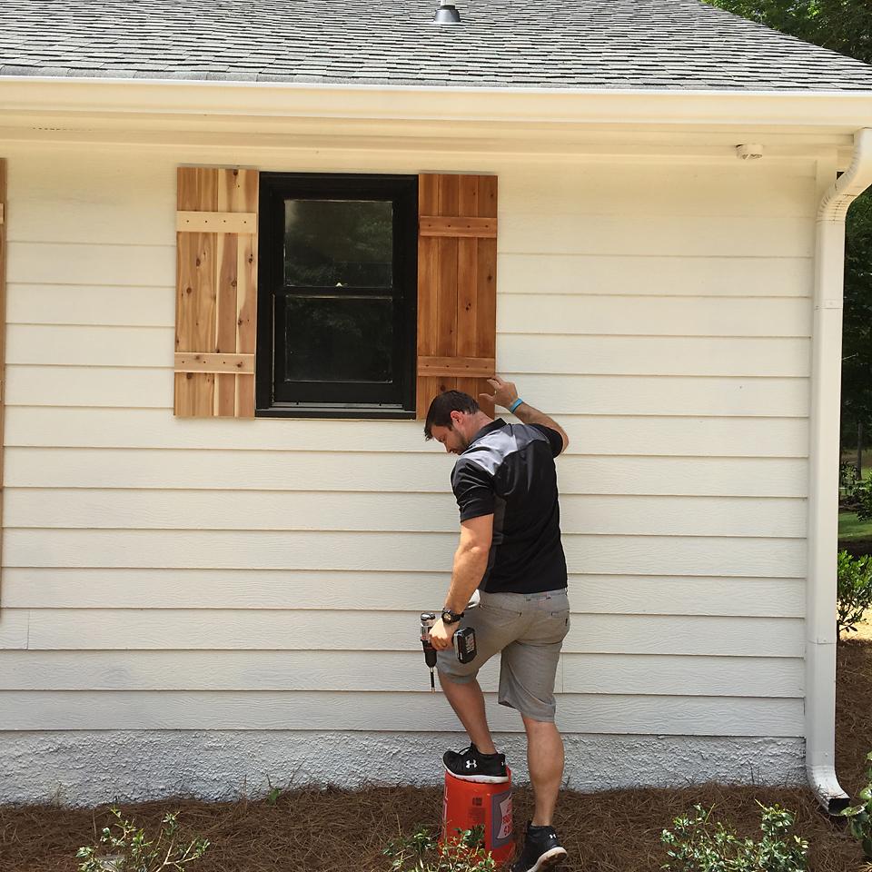 Lakehouse Exterior Progress 5