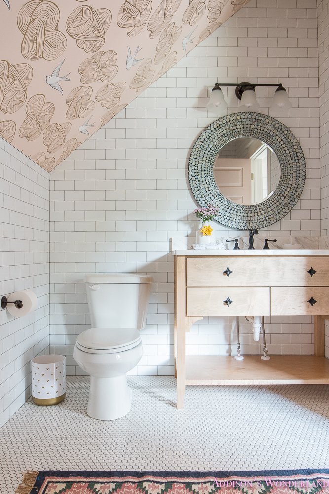 A Tiny Little Bathroom Design Addison S Suite Reveal
