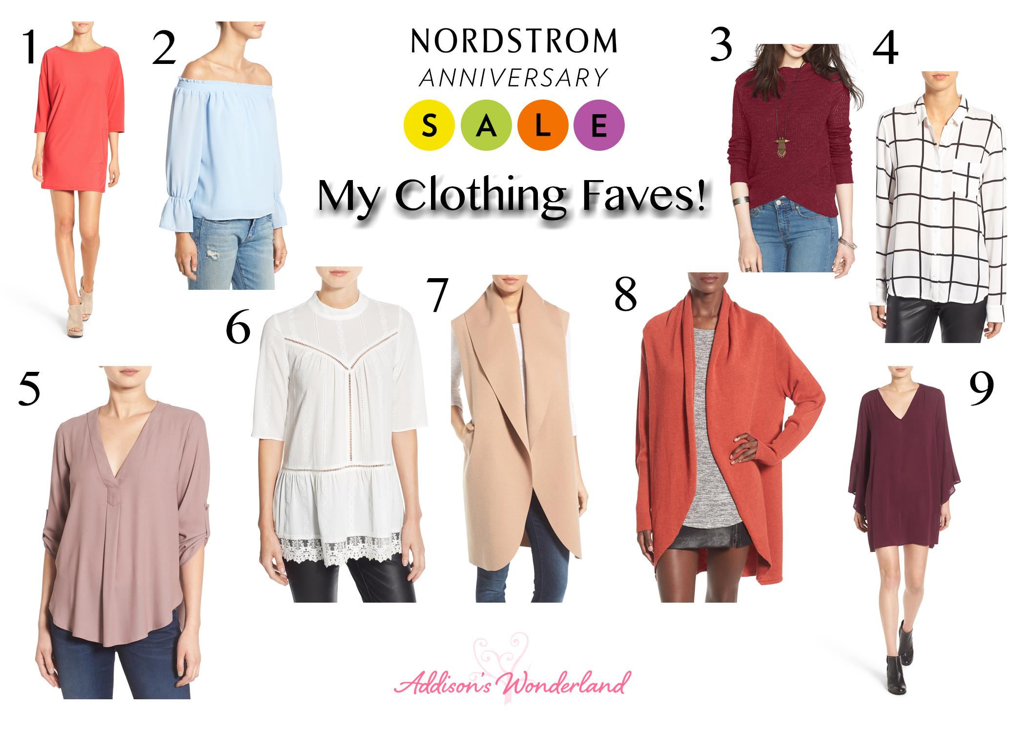 Nordstrom anniversary sale clothing addison s wonderland