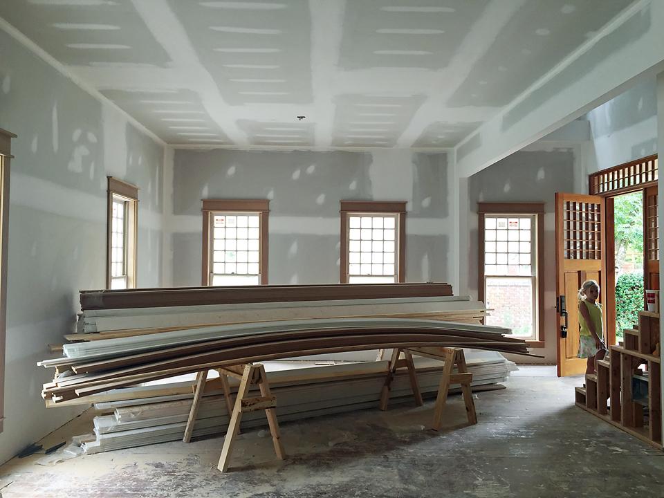 Craftsman Home Trim Molding Window 5