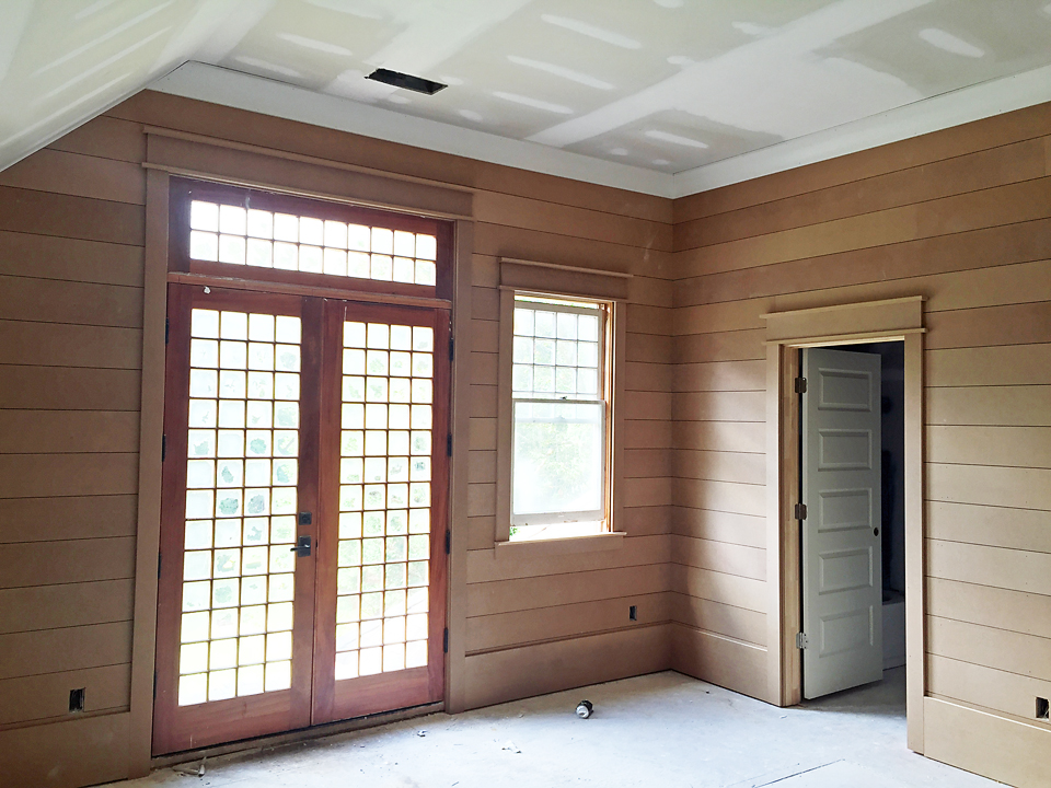 Craftsman Home Trim Molding Window Shiplap Door 3