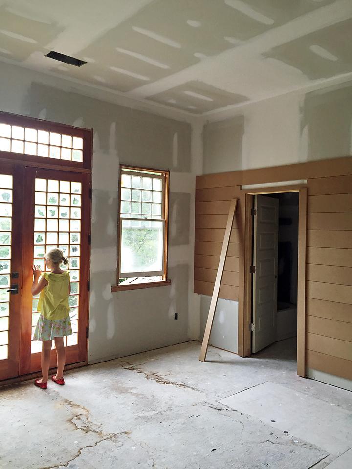 Craftsman Home Trim Molding Window Shiplap Walls 3