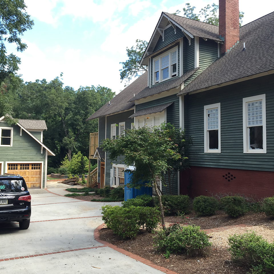 Craftsman Home Exteriors: Another Day, Another Dang Paint Brush...