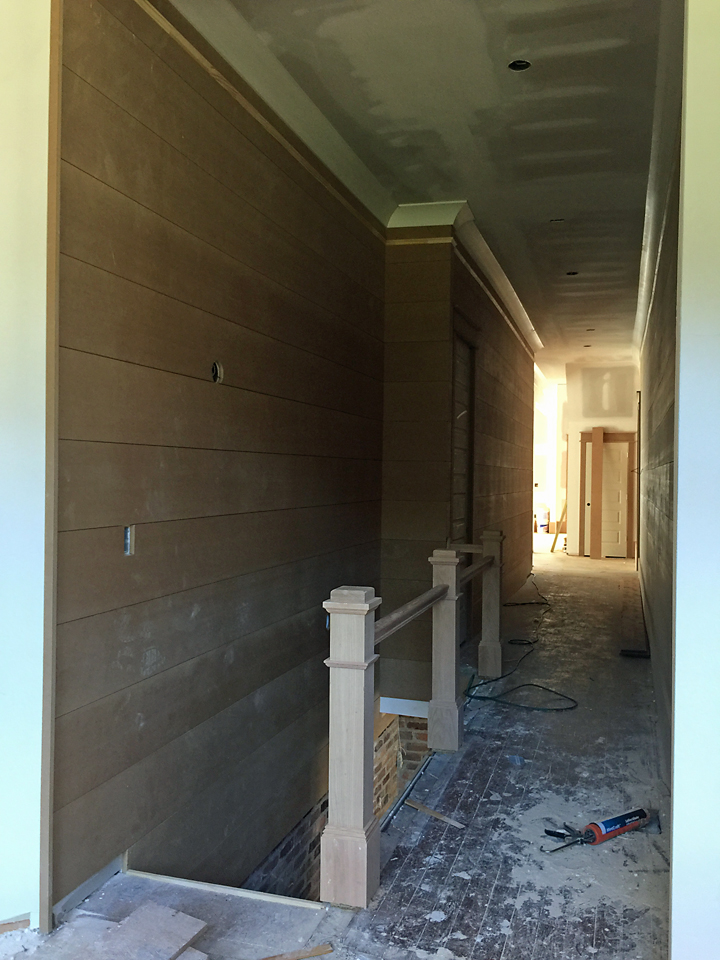 Craftsman House Interior Trim WIndows Doors 1