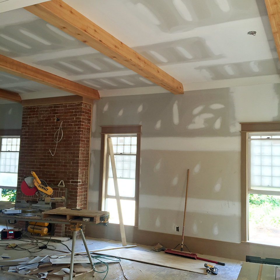 Trim ceilings and moldings oh my addison 39 s wonderland for Craftsman house interior