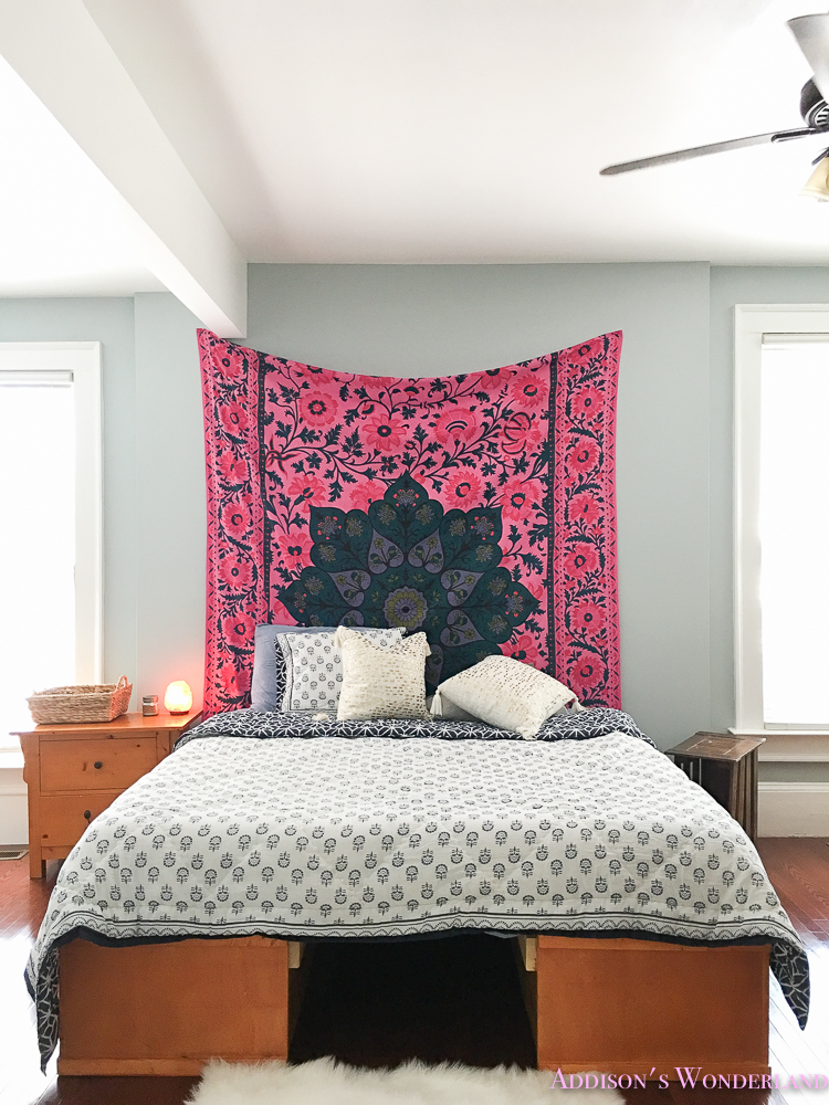 A Surprise Budget Boho Chic Bedroom Makeover