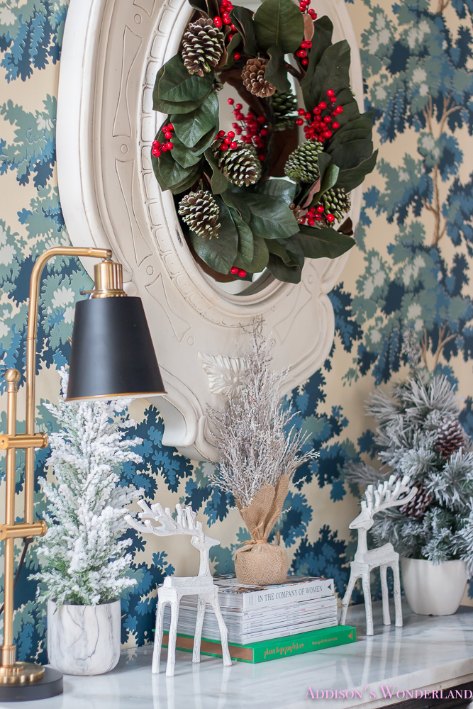 Our Colorful Christmas Holiday Living Room Home Tour