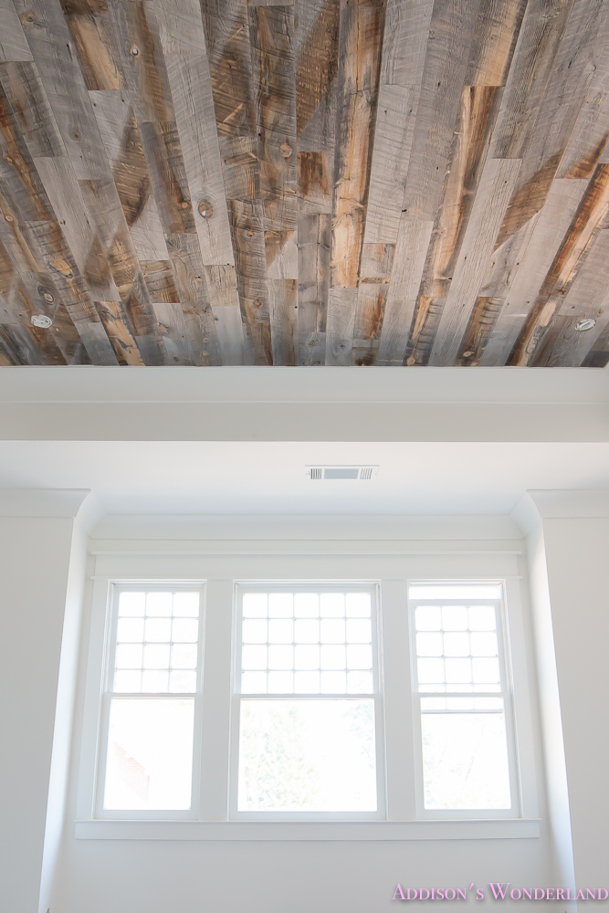 stikwood reclaimed weathered wood ceiling bedroom 16 of - Reclaimed Wood Ceiling