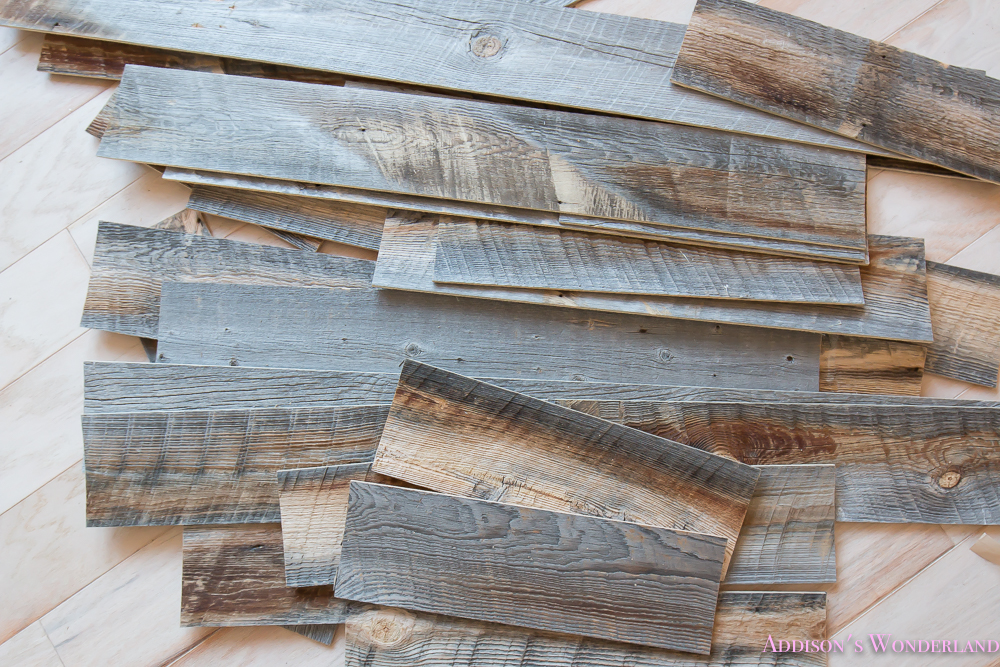 Our reclaimed weathered wood stikwood ceiling addison 39 s Reclaimed woods