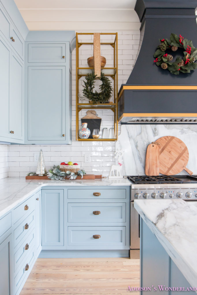 Inside Our Vintage Modern Style Holiday Kitchen