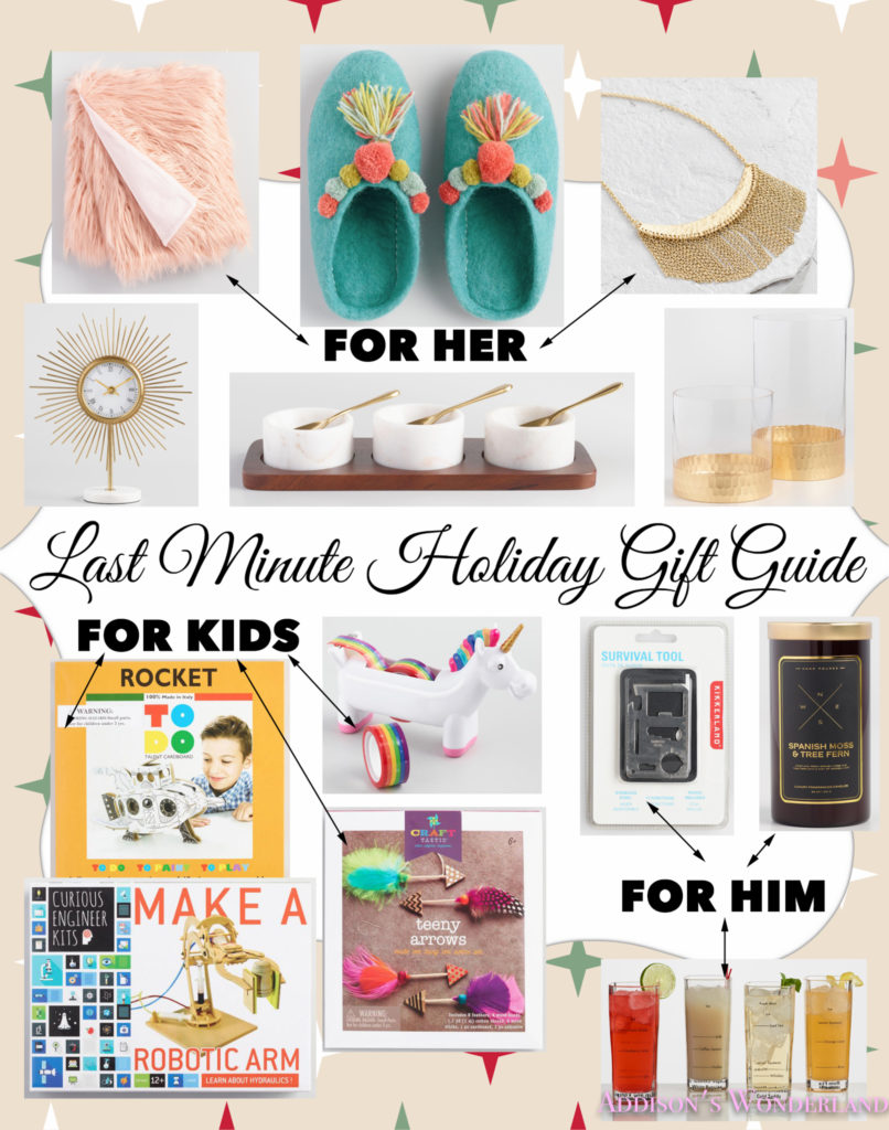 Last Minute Holiday Gift Guide with World Market…