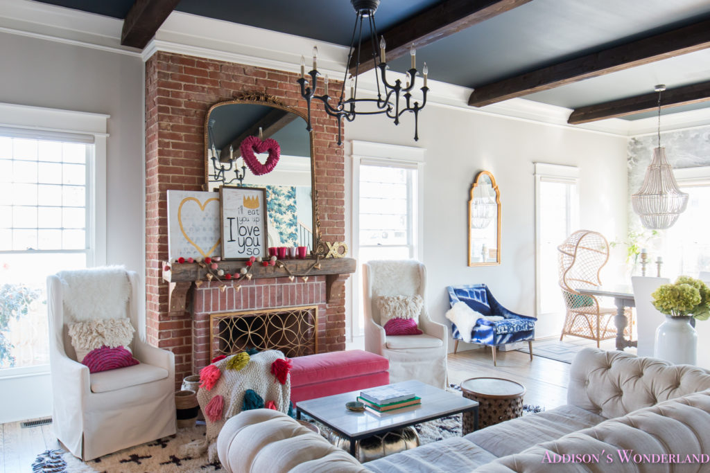 Our Colorful, Whimsical & Elegant Valentine's Day Living ... on Room.decor  id=73602