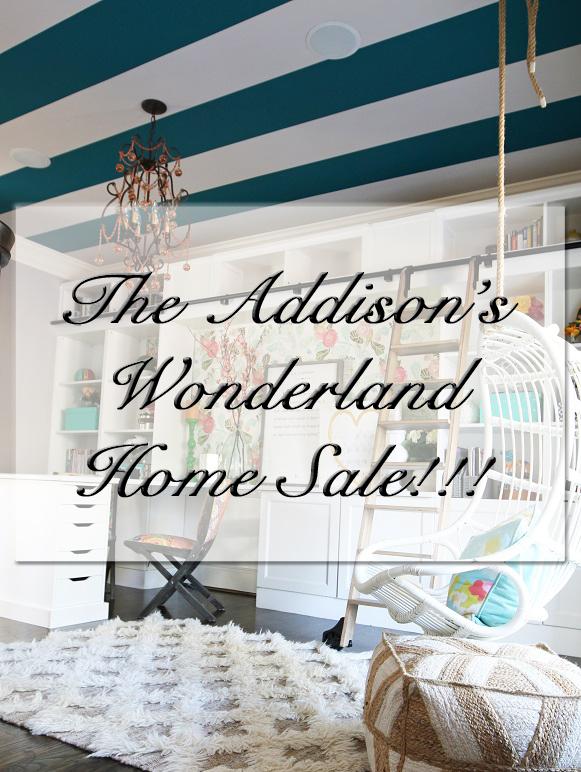 Addison's Wonderland is Having A Local Sale!