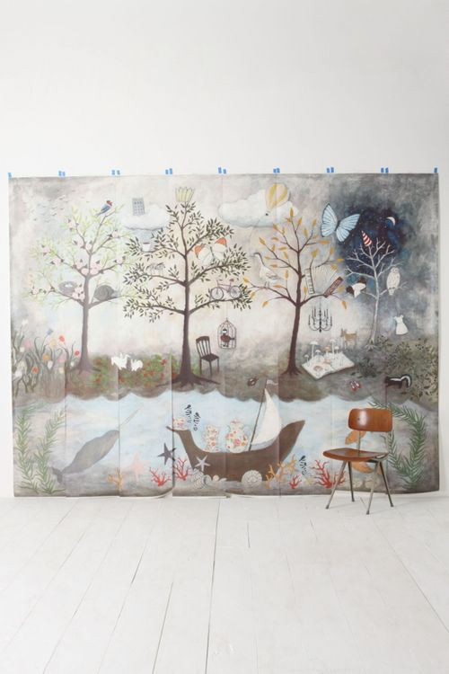 enchanted-forest-mural