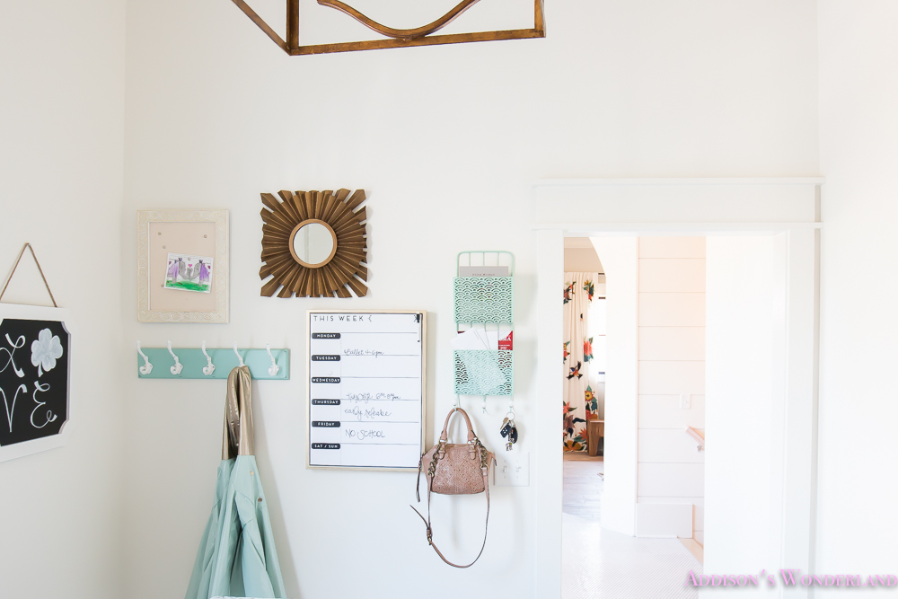 Mud Room Wall Decor : Command center on a budget addison s wonderland