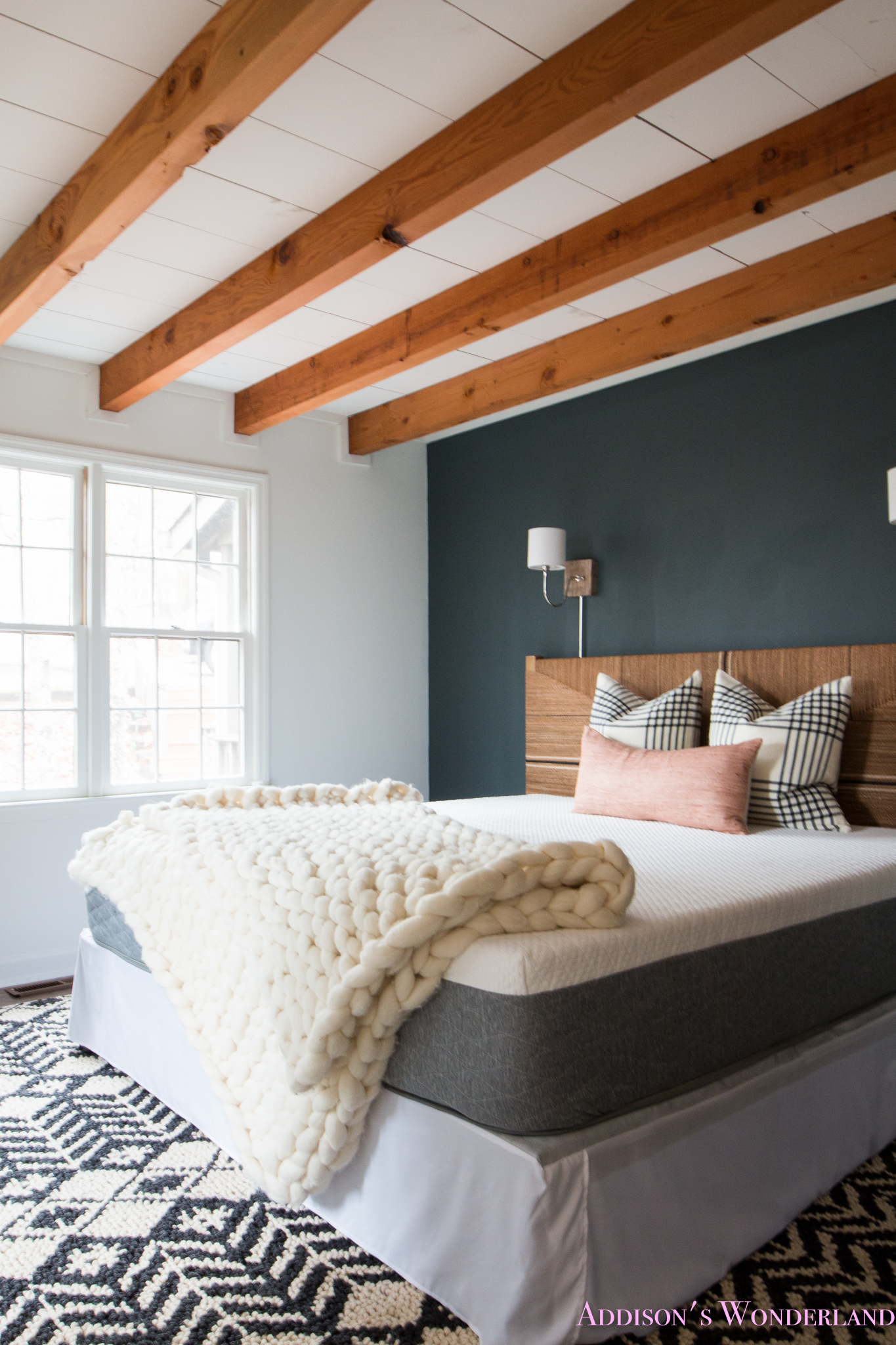A Peek Inside Our Cabin's Master Bedroom Makeover w/ Serena & Lily!