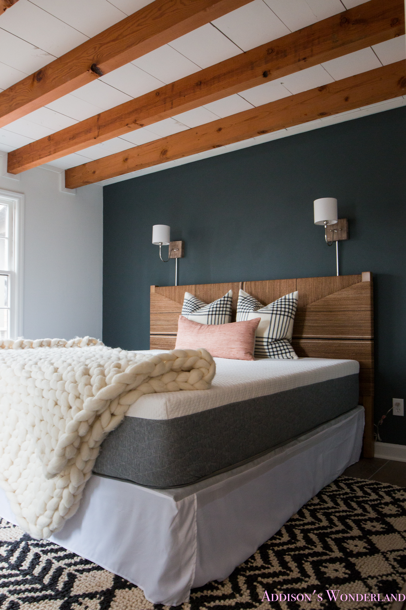 A Peek Inside Our Cabin S Master Bedroom Makeover W