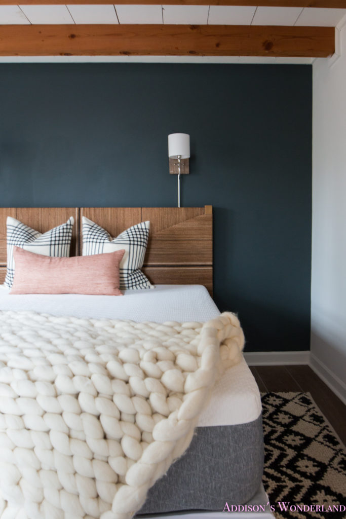 A Peek Inside Our Cabin's Master Bedroom Makeover w ...