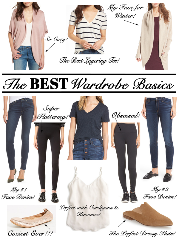 The Best Women's Wardrobe Basics- My Personal Faves!