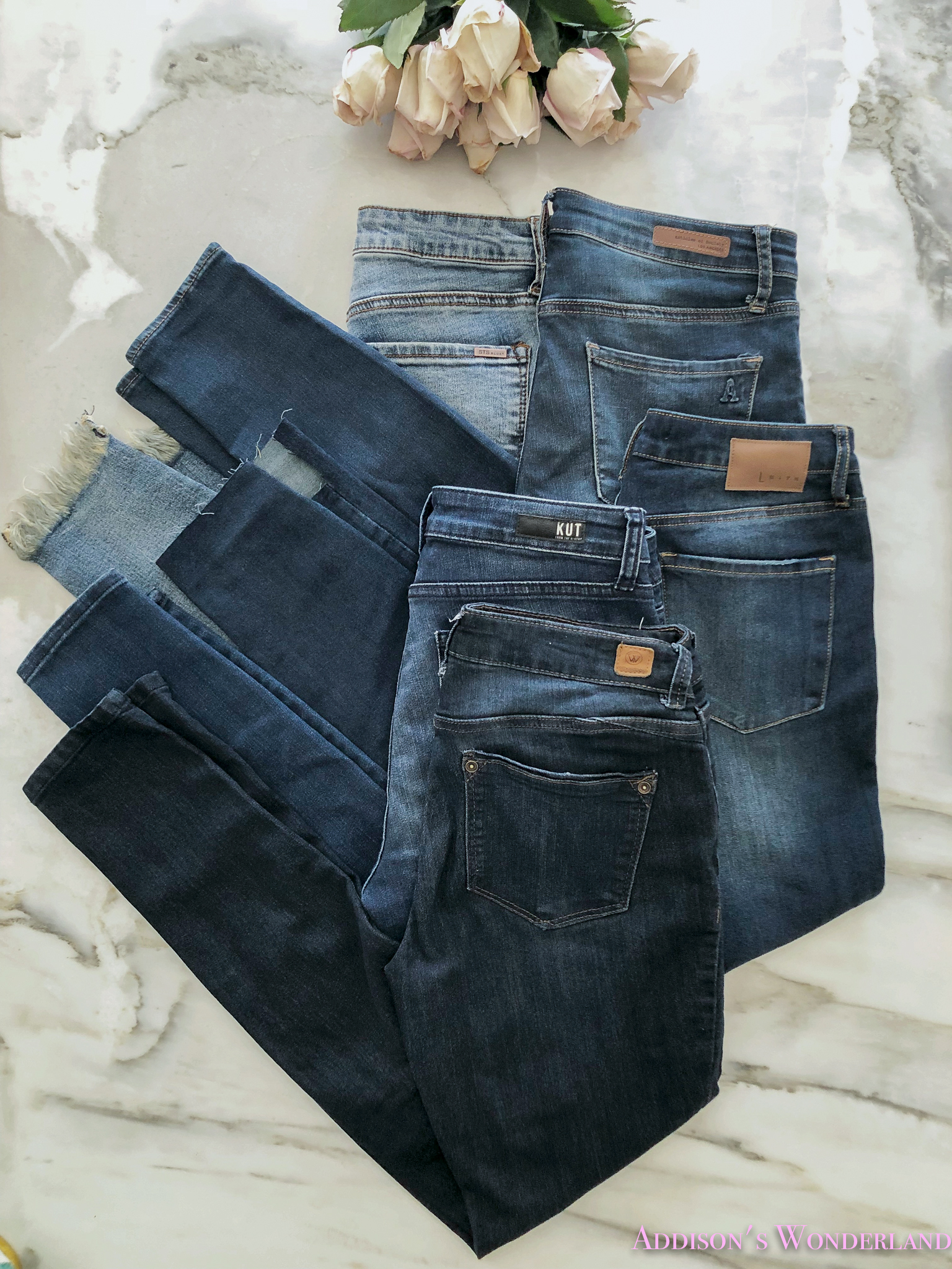 My Honest Review of Five Pairs of Blue Jeans / Denim Under $100!