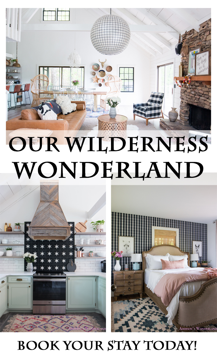 You Can Now Book Your Stay at Our Wilderness Wonderland- Our Big Canoe Rental Cabin!