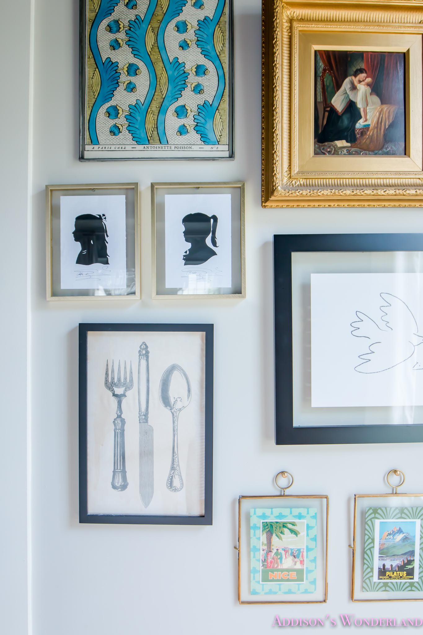 Our New Living Room Doorway Gallery Wall Reveal!