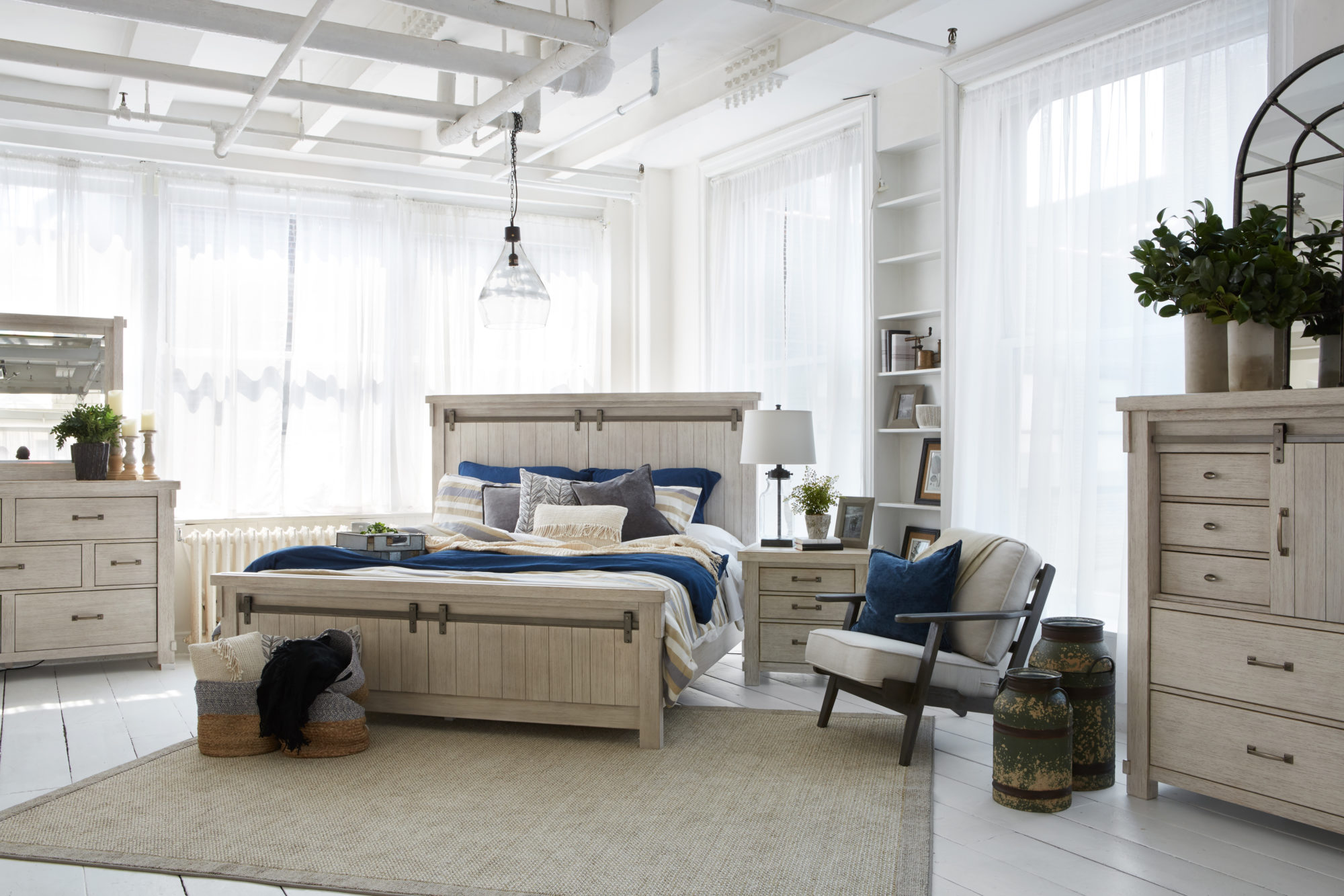 Ashley Homestore S New Modern Farmhouse Furniture Line Mane Mason