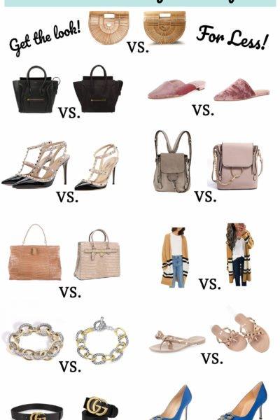The Eleven BEST Designer Dupes on Amazon Fashion!