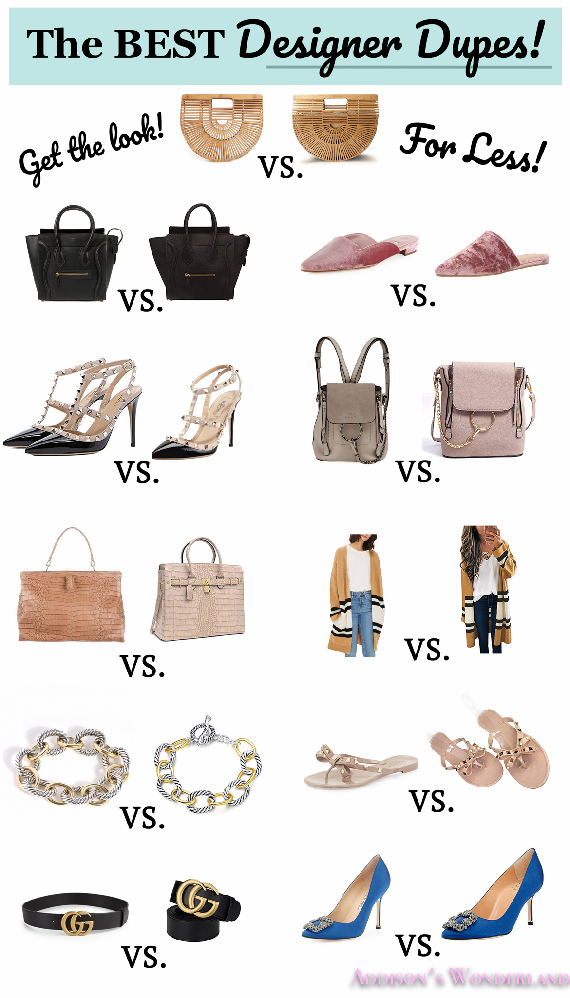 The Eleven BEST Designer Dupes on Amazon Fashion!