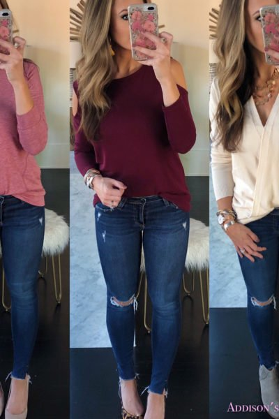 Amazon Fall Affordable Clothing Finds UNDER $25 & My New Bracelet Stack!