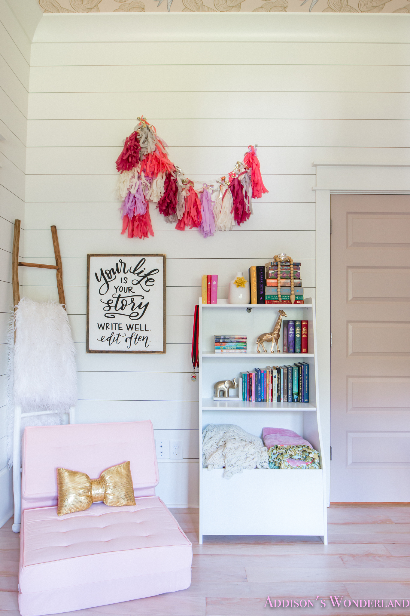 Addisons New Kids Bedroom Reading Nook With Walmart