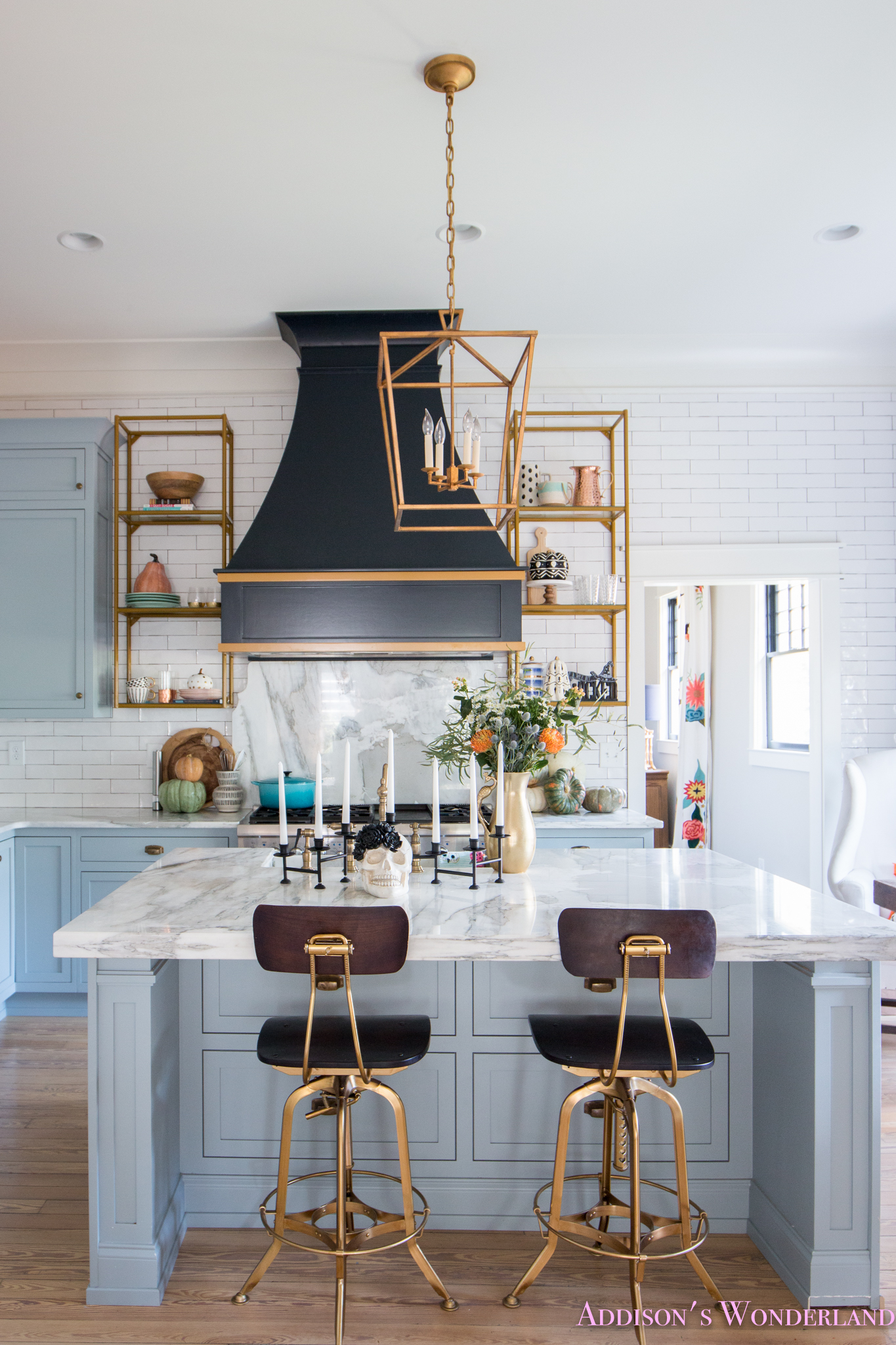Our Spooky Halloween Kitchen With Fall Decorating Ideas